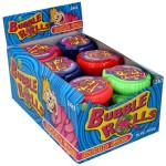 GUMA DO ŻUCIA W  ROLCE BUBBLE ROLLS OPAK 24SZT
