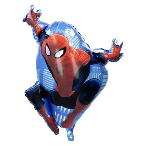"BALON 24""SPIDERMAN W LOCIE NIEBIESKI NEW"