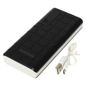 POWER BANK  POWERBANK 20000mah LED USBCZARNY 10093