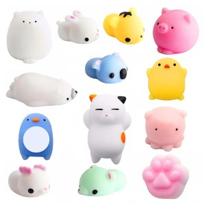 MOCHI SQUISHY FIDGET GNIOTKI PUSH POP IT GNIOTEK 10SZT