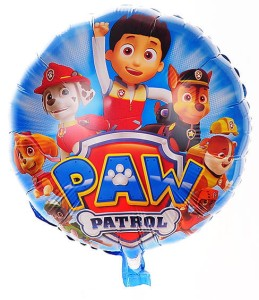 "BALON 18"" PSI PATROL NEW NIEBIESKI"