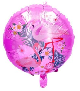"BALON 18"" FLAMING RÓŻOWY"