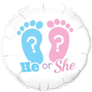 "BALON 18"" HE OR SHE"