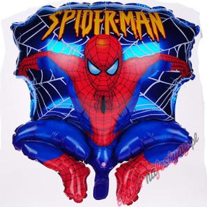 "BALON 22"" SPIDERMAN NIEBIESKI"