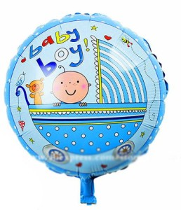 "BALON 18"" BABY BOY NEW"