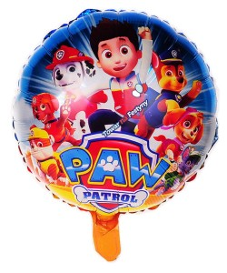 "BALON 18"" PSI PATROL NEW ŻÓŁTY"