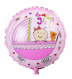 "BALON 18"" BABY GIRL NEW"